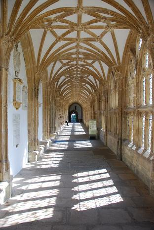 The Cloister, Wells (Henrietta's 'Torminster')
