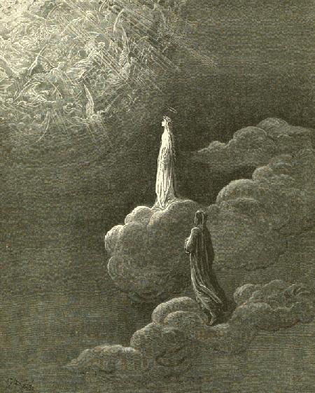 Paradise, from Dante, Gustave Dore'