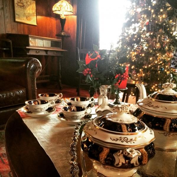 the Regency tea set